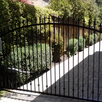 Wrought Iron Driveway gate, Richmond