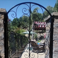 Courtyard Gate San Rafael