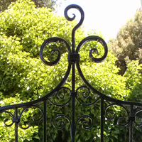Oakland, Ornamental Iron