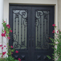 Pleasanton, Iron Doors