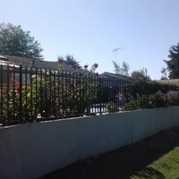 Wrought Iron Fence, Pleasanton